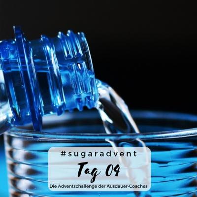 Zuckerfreie Ernährung - Wasser trinken