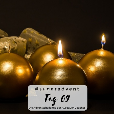 zuckerfrei ernähren - schönen zweiten advent