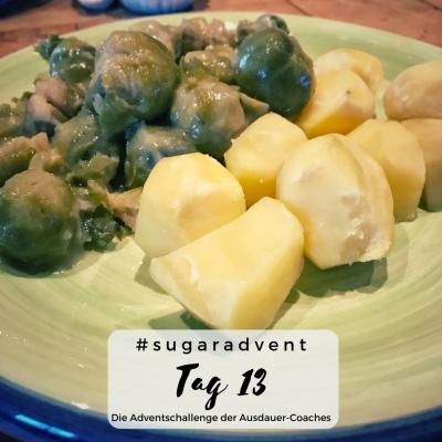 zuckerfrei ernähren - Winteressen Kartoffeln und Rosenkohl