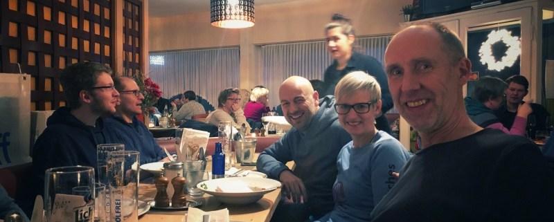 Ultramarathon Rodgau 50k - Carboloading #twitterlauftreff Pizza und Pasta