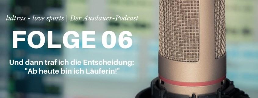 Folge 06 // LULTRAS love sports // Der Ausdauerpodcast mit Hannah und Carsten