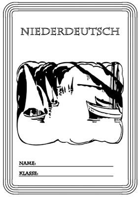 Deckblatt Niederdeutsch ausdrucken