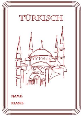 Trkisch  Deckbltter ausdrucken