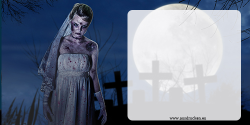 gruselige Halloween Karten