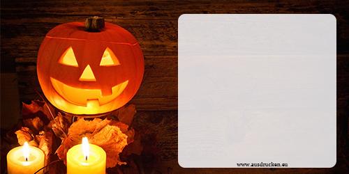 Halloween Krbis Karten