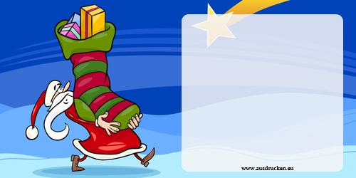 Gutschein fr Weihnachten  Weihnachten Ausdrucken von Vorlagen