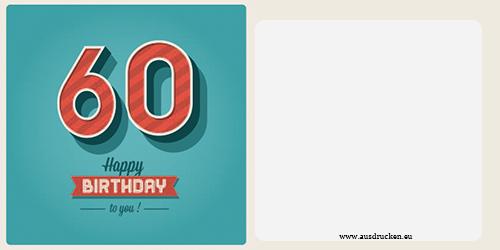 Geburtstagskarten mit Zahlen  Geburtstagskarten mit