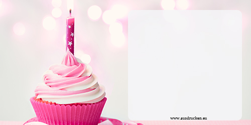 Schne Geburtstagskarten  Schne Geburtstagskarten Ausdrucken von Vorlagen