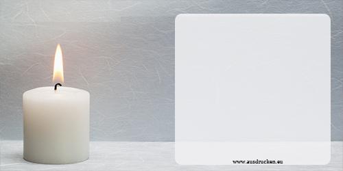 Trauerkarten  Trauerkarten Ausdrucken von Vorlagen