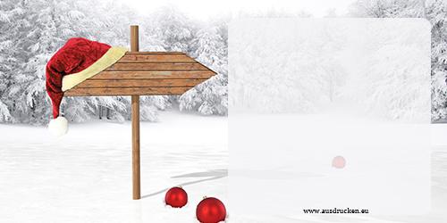Karten fr Weihnachten