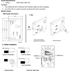 Dual Switch Light Wiring Diagram Car Headlight White Usb Australian Power Point Home Wall Plate Supply Socket