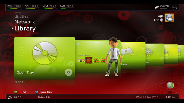 Xbox 500Gig Hard Drive Upgrade