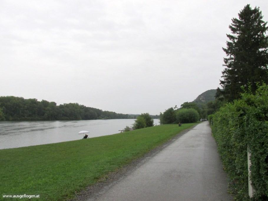 Donauradweg mit Kindern