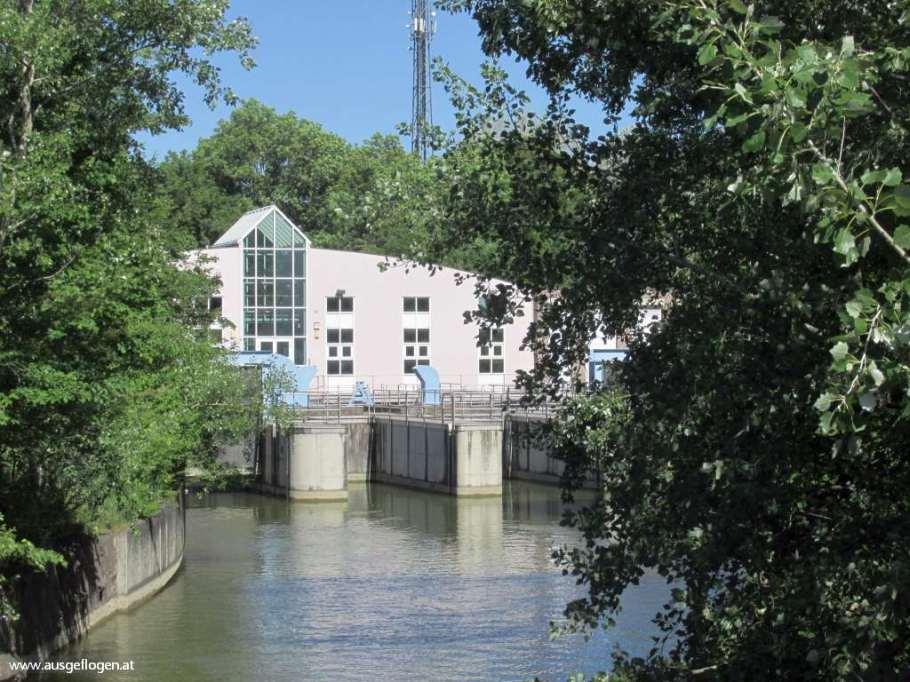 Einlaufwerk Neue Donau