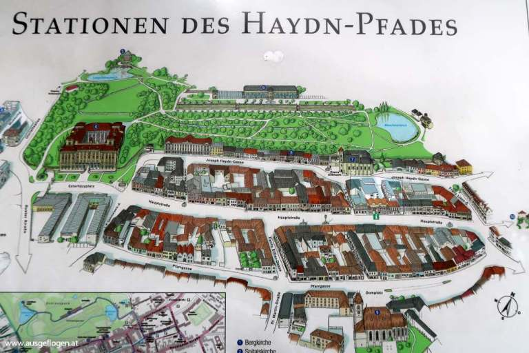 Haydn-Pfad Eisenstadt Sehenswürdigkeiten
