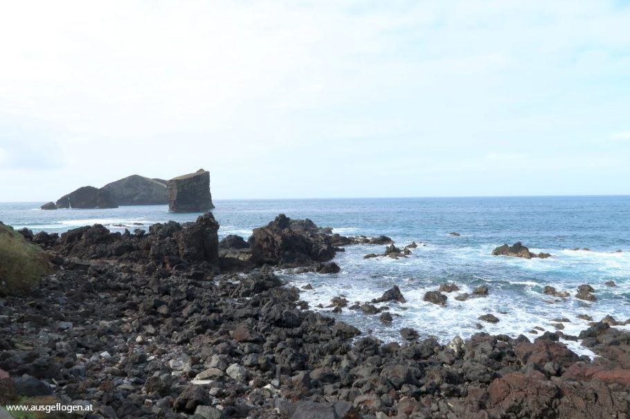 Azoren Lavastrand
