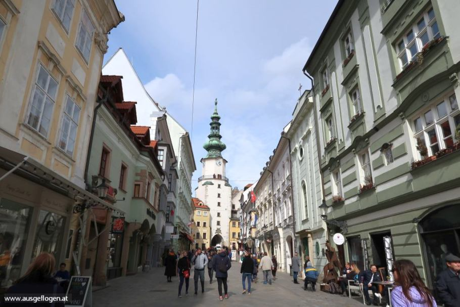 Bratislava Altstadt Sehenswürdigkeiten Spaziergang