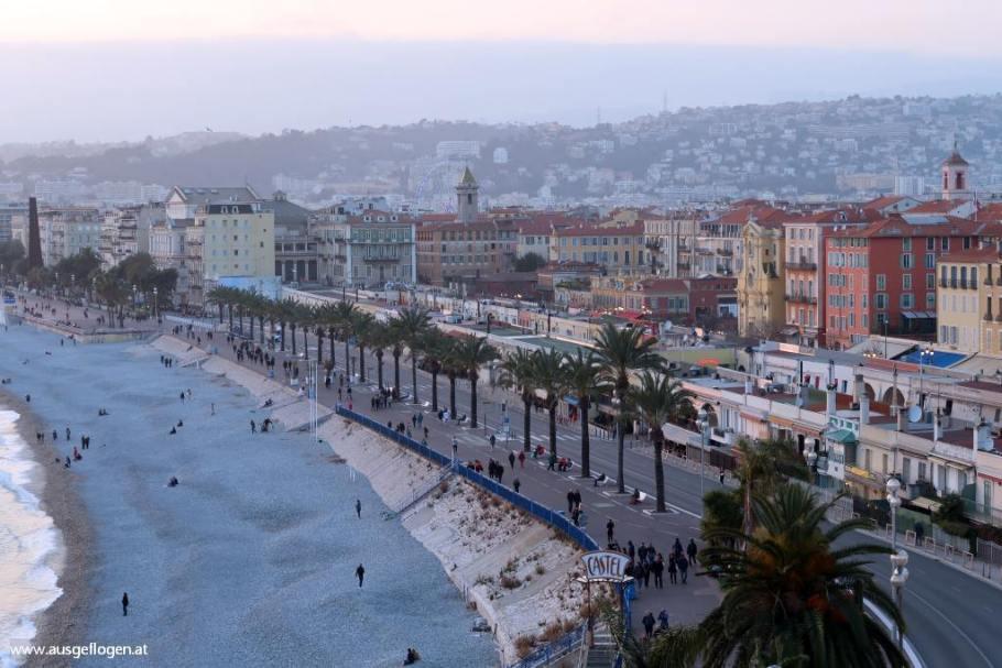 NIZZA Kurztrip: Wintersonne an der Côte d'Azur