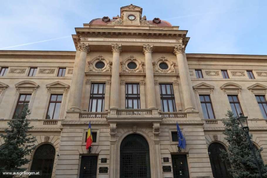 Nationalbank Bukarest Sehenswürdigkeiten