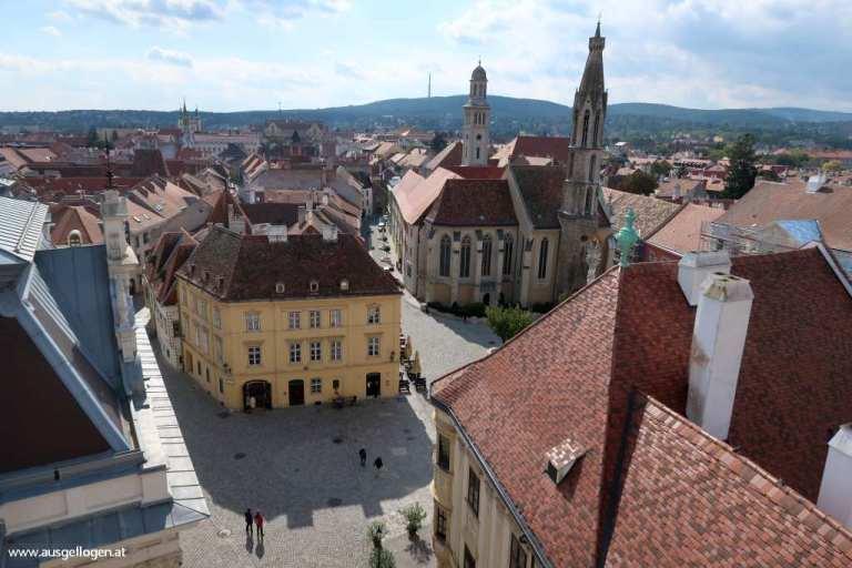 Sopron Aussicht Feuerturm