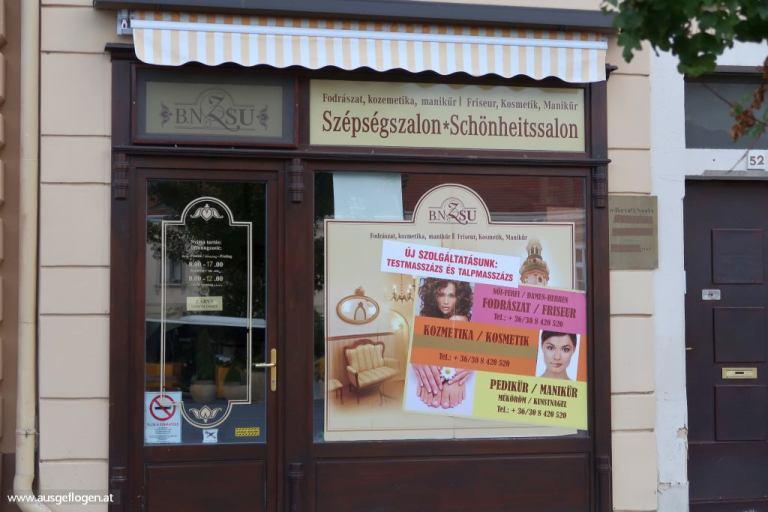 Beautysalon Ungarn