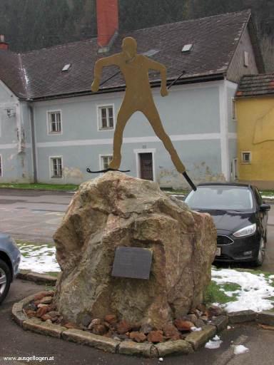 Mario Stecher Denkmal Eisenerz