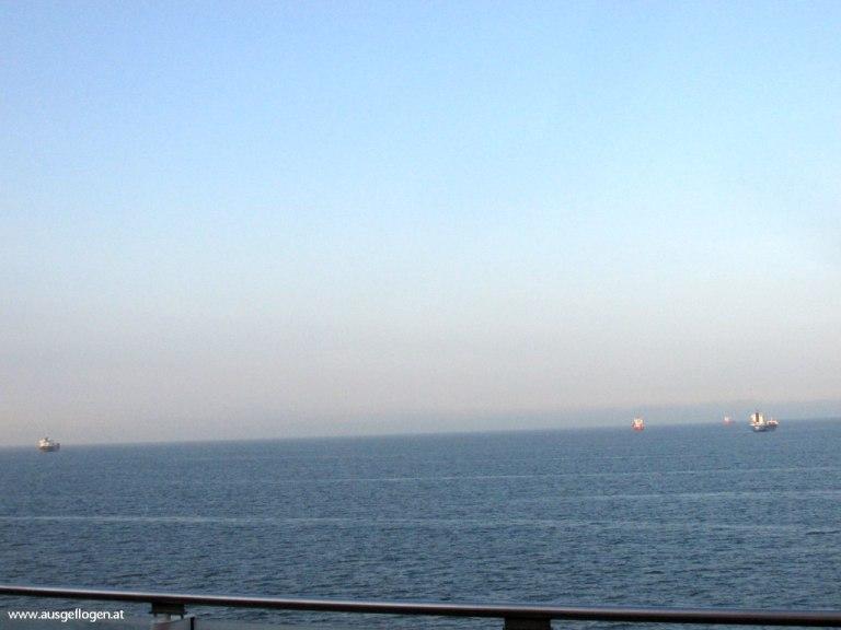 Ärmelkanal Schiffe Interrail Nordeuropa