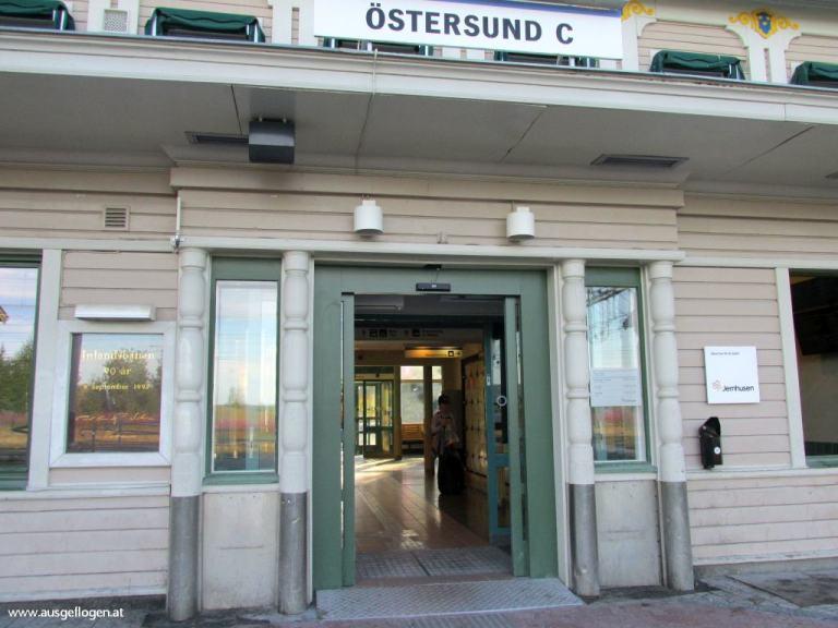 Östersund Bahnhof