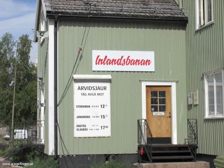 Inlandsbanan Schweden Stationen