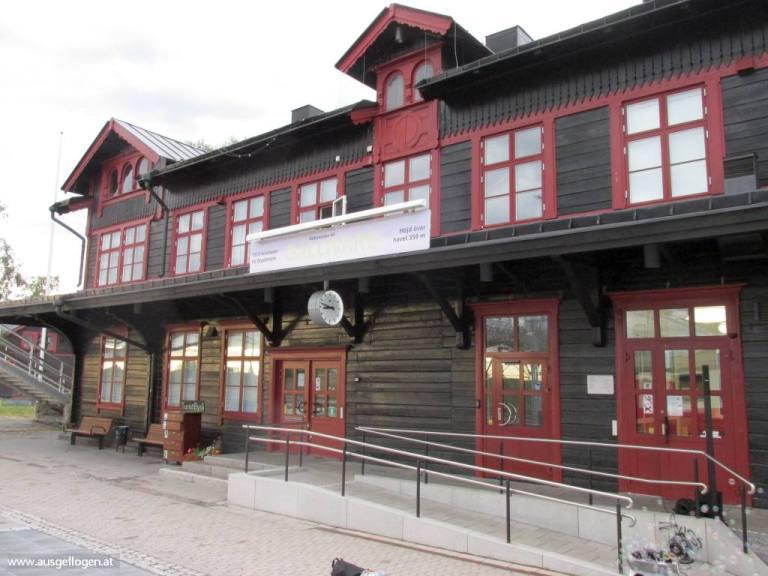 Gällivare Bahnhof