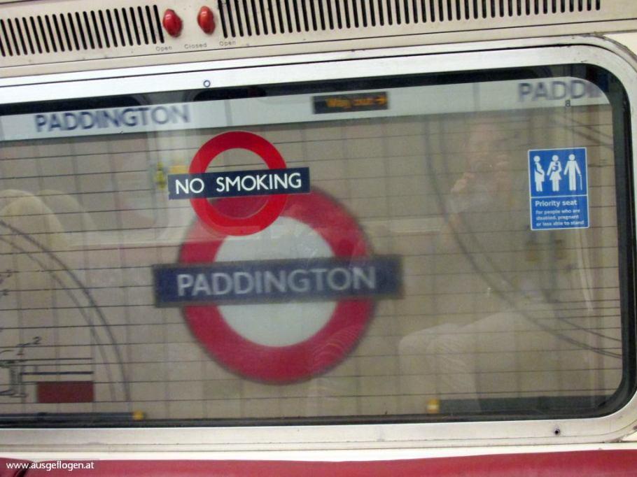 London mit Kindern Tube