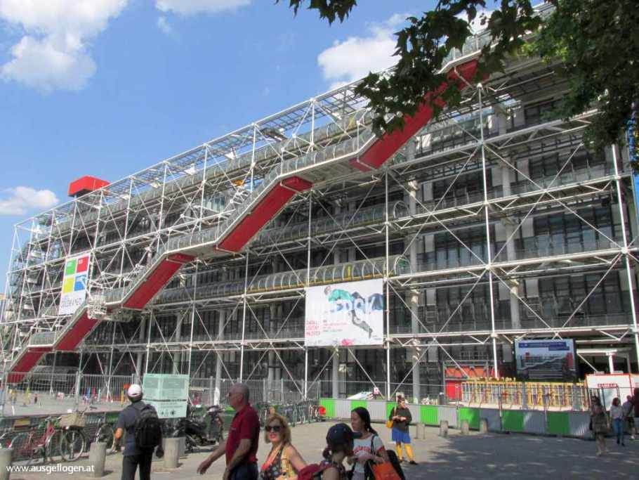 Paris Centre Pompidou Interrail Nordeuropa