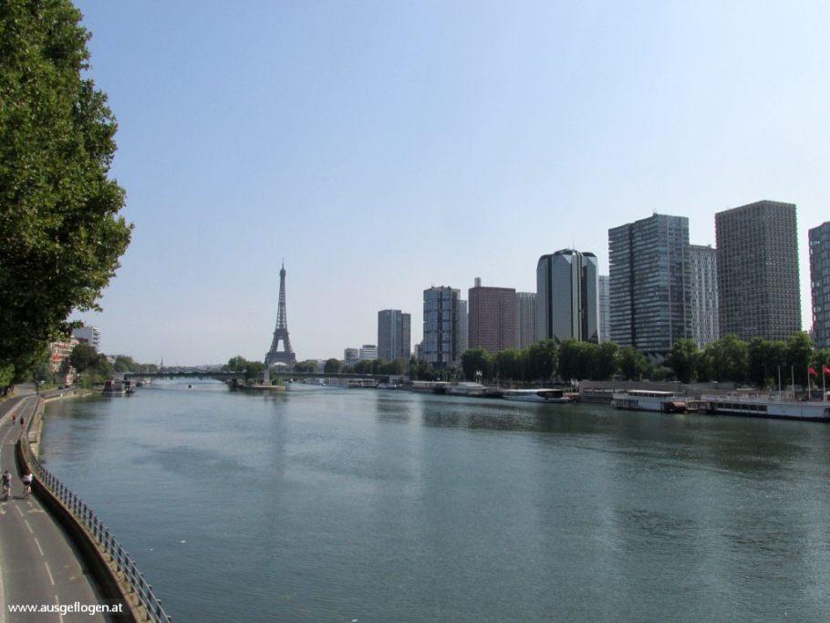 Paris Eiffelturm Interrail Nordeuropa