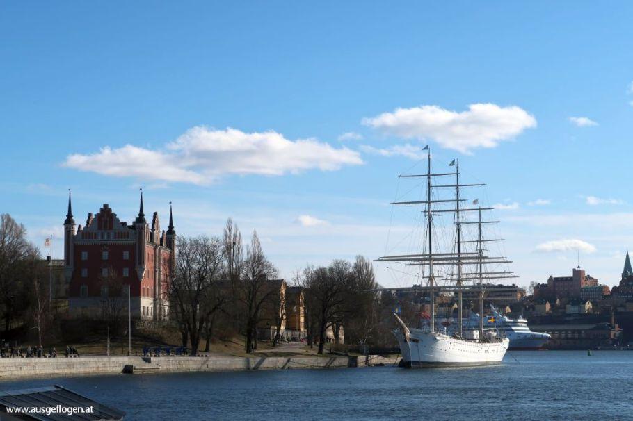 STF Stockholm/ af Chapman & Skeppsholmen übernachten Jugendherberge