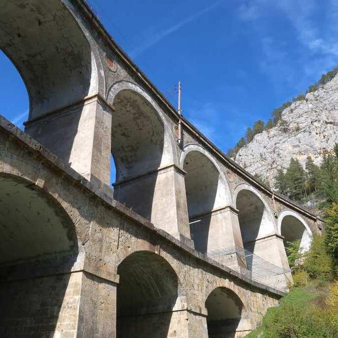 Kalte-Rinne-Viadukt Ausflugsziele Niederösterreich