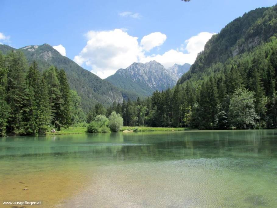 Planšarsko See Slowenien