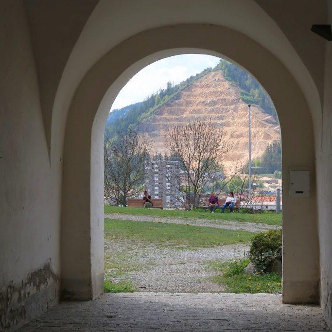 Leoben Massenburg steirische Eisenstraße