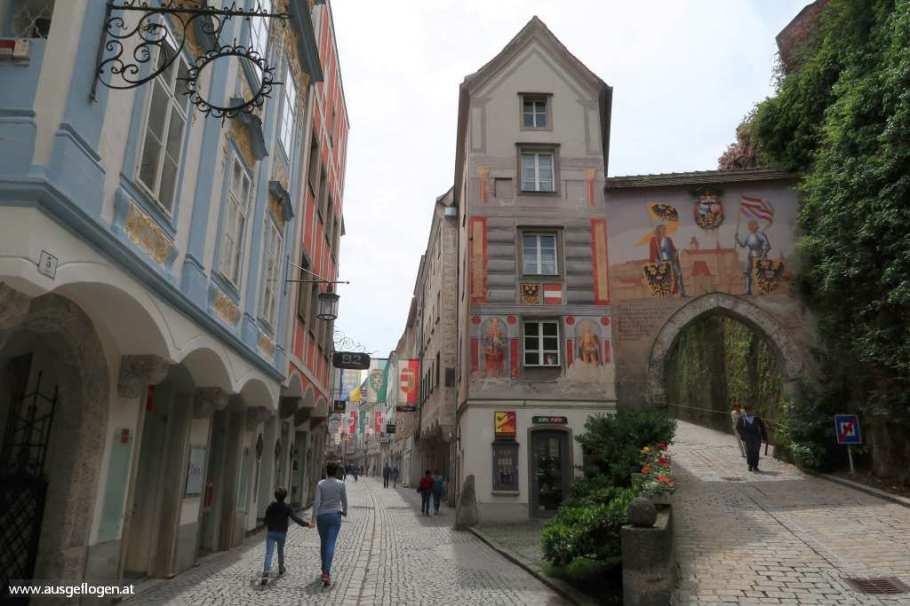 Zwixchenbrücken Steyr Aufgang Schloss
