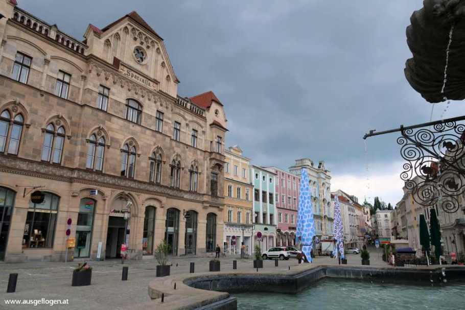 Steyr SehenswürdigkeitenStadtplatz