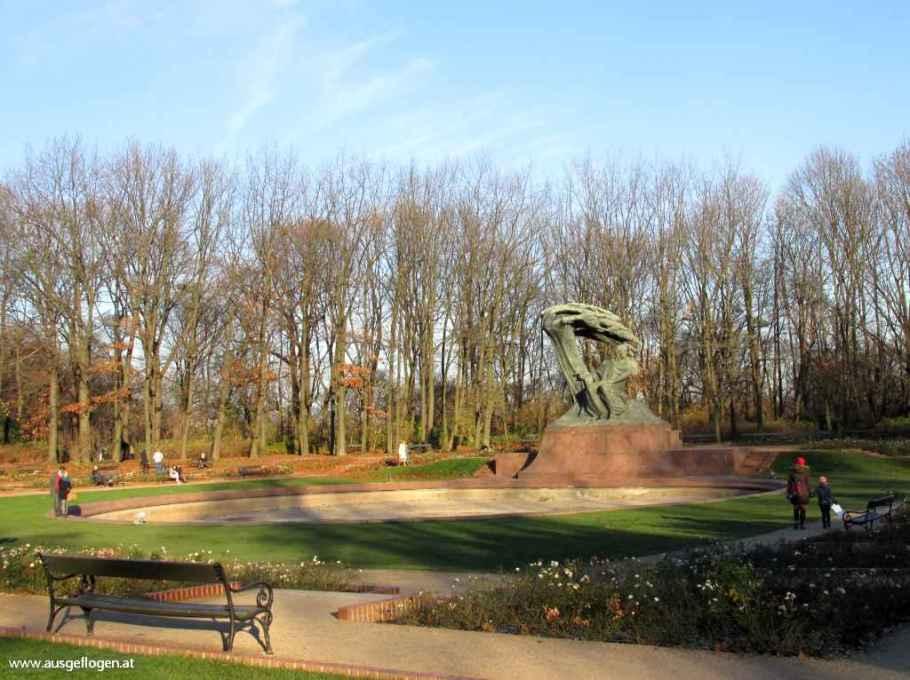 Lazienki Park Chopin