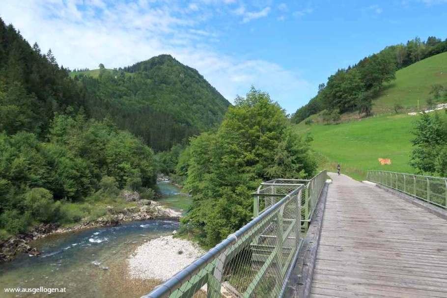 Am YBBSTALRADWEG von Lunz nach Waidhofen an der Ybbs
