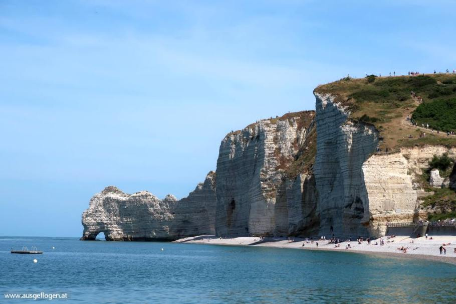 Alabasterküste Normandie Etretat