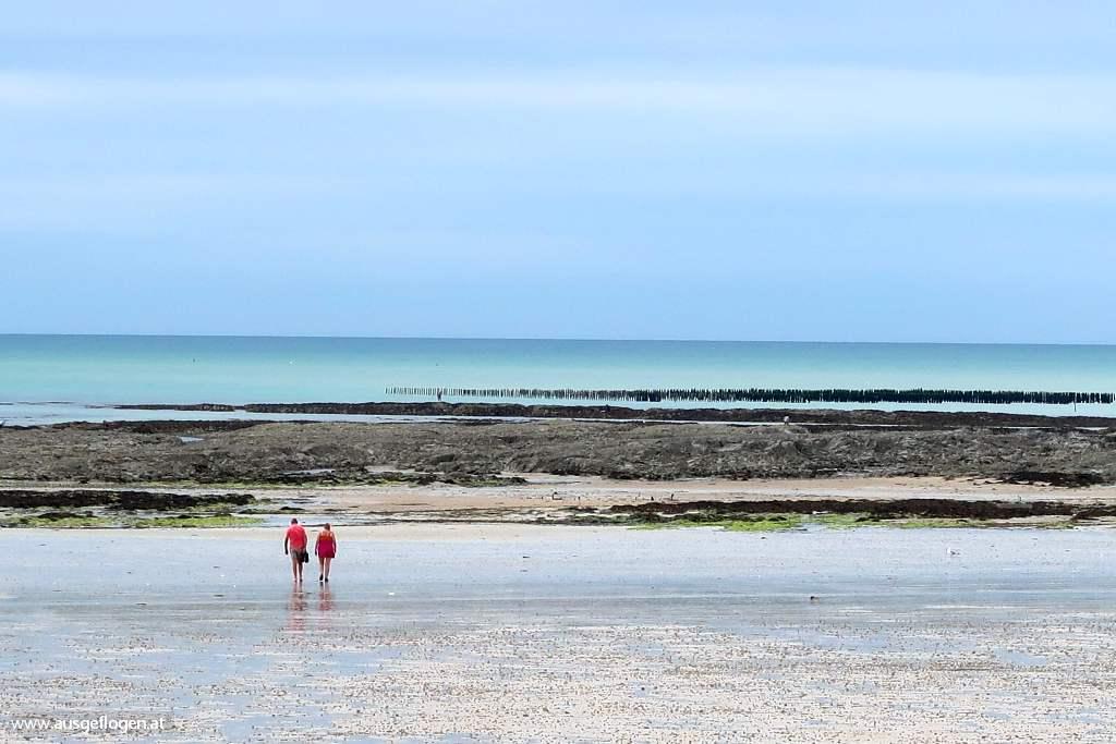 Cotentin Strände Pirou Plage