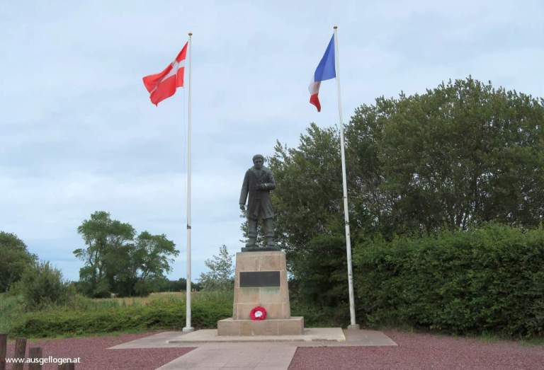 Utah Beach dänisches Memorial