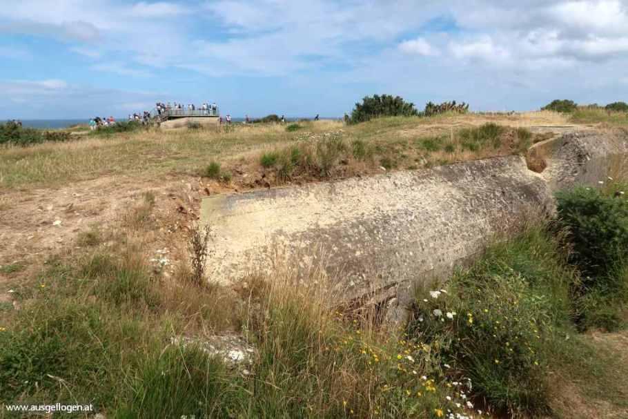 Normandie Landungsstrände Pointe du Hoc