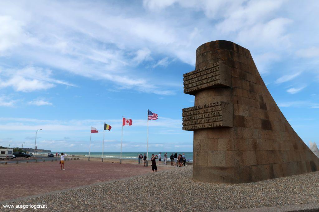 Normandie Landungsstrände Omaha Beach