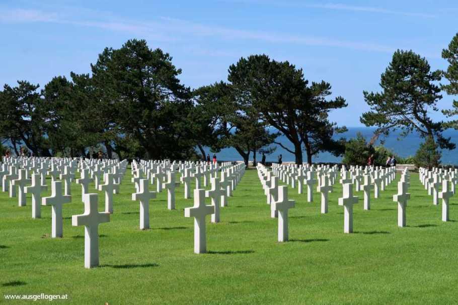 Omaha Beach Soldatenfriedhof von Colleville-sur-Mer