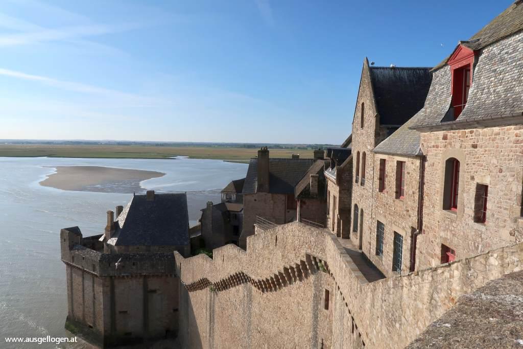Mont Saint Michel Ausblicke