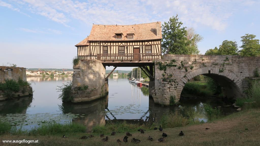 Mühle von Vernon Normandie