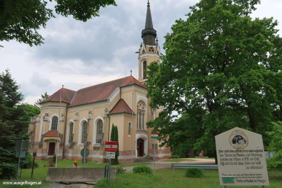 St. Emmerichs Kirche Grenze Ungarn Österreich